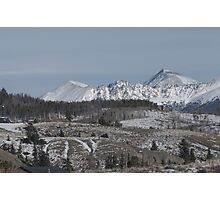 Colorado Mountain Town Photographic Print
