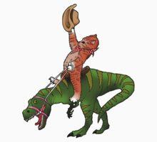 Rootin' Tootin' Rodeo Kitten by darryldixgrl