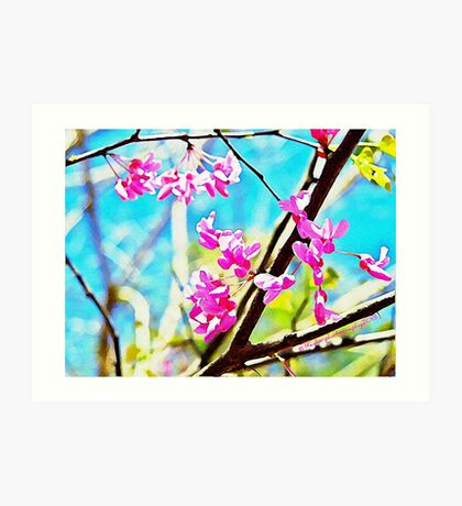 Red Buds - A Watercolor Art Print