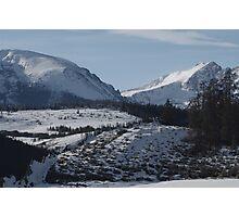 Colorado Mountain Scene Photographic Print