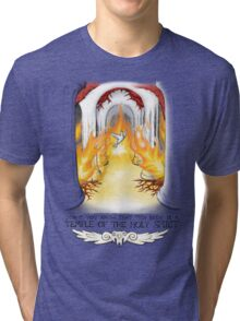 Temple of the Spirit Tri-blend T-Shirt