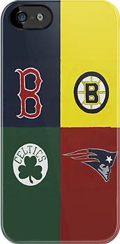 Boston Sports Lovah  by Kelly Betts