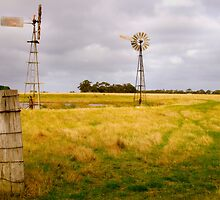 Windmills by MickDavsonPhoto