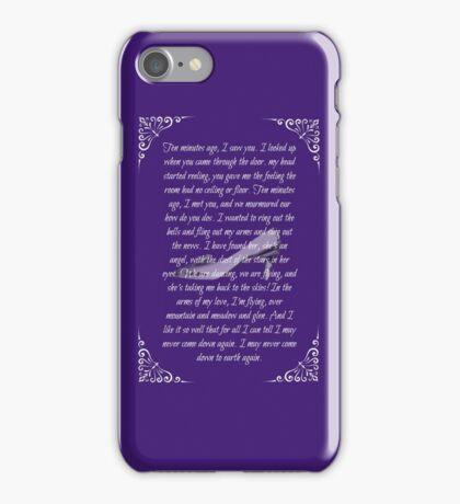 Ten Minutes Ago iPhone Case/Skin