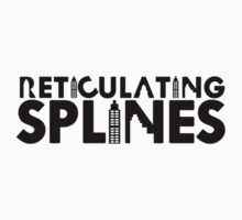 Reticulating Splines (Light Shirt) by Jo Khoury