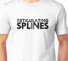 Reticulating Splines (Light Shirt) Unisex T-Shirt