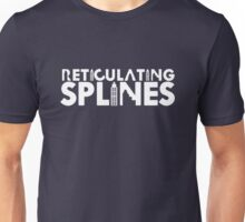 Reticulating Splines (Dark Shirt) Unisex T-Shirt