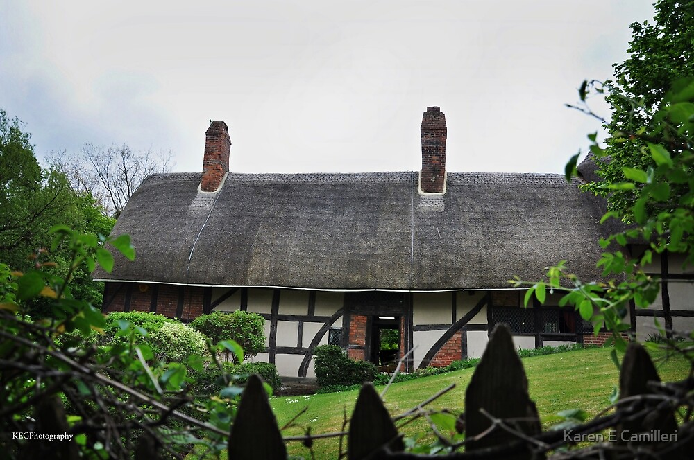 Anne Hathaway's Cottage by Karen E Camilleri