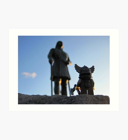 A little viking in all of us. Art Print