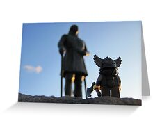 A little viking in all of us. Greeting Card