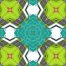 abstract green 2 by erdavid