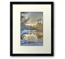 just a parc Framed Print