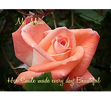 Violet Carson - Mother's Day Card Photographic Print