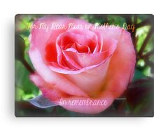 Mother's Day with Lorraine Lee Canvas Print