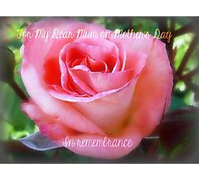 Mother's Day with Lorraine Lee Photographic Print