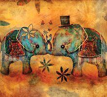 Vintage Elephants by © Karin (Cassidy) Taylor