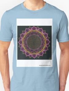 Black Cherry Mandala T-Shirt