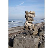 Seaside Rock Stack North Photographic Print