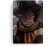 Fourth Doctor - Tom Baker Canvas Print