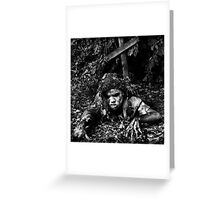 AND THE DEAD SHALL WALK THE EARTH Greeting Card