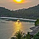 One Night in Koh Tao - Sunset from Jamahkiri by Cole Stockman