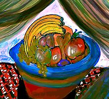 Bowl of Fruit by PicturesPVM