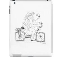 Fishing for a Bike iPad Case/Skin