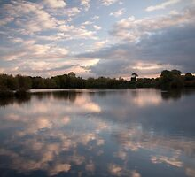Cloud Reflections by Ralph Goldsmith