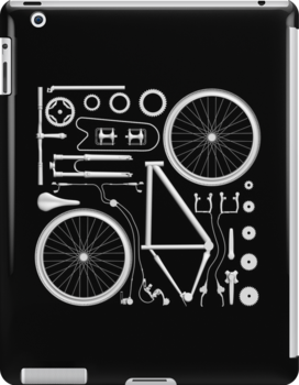 Exploded Bicycle by zomboy