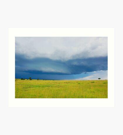 Sky - Masai Mara - Kenya Art Print