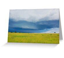 Sky - Masai Mara - Kenya Greeting Card