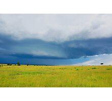 Sky - Masai Mara - Kenya Photographic Print