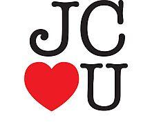 JC LOVES U Photographic Print