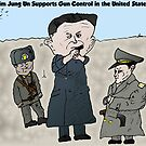 Drawing Fire By North Korea&#x27;s Kim Jung Un by Binary-Options