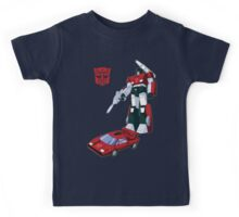 Sideswipe (dark coloured T-shirts) Kids Tee
