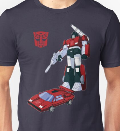 Sideswipe (dark coloured T-shirts) Unisex T-Shirt