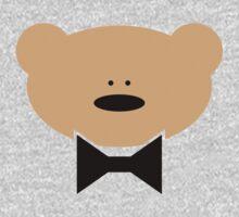 Teddy-Bear wears a Bow Tie Kids Clothes