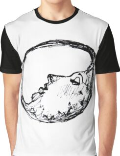 Crescent Moon Lady Graphic T-Shirt