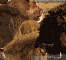 Lion Kings Sticker