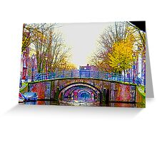 Six Bridges Greeting Card