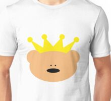 Teddy Bear with royal crown Unisex T-Shirt
