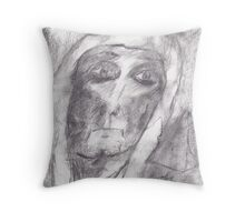 Ancient Priest Throw Pillow
