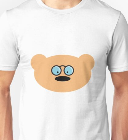 Teddy Bear with glasses Unisex T-Shirt