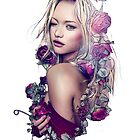 Gemma Ward Rose Etch by Ela Designs©