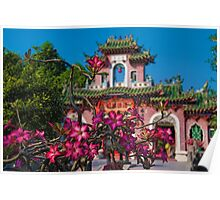 Vietnam. Hoi An. Assembly Hall of the Fujian Chinese Congregation. Poster