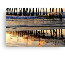 There Goes The Sun Canvas Print