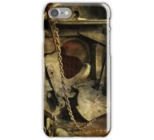 Steam Engine Furnace iPhone Case/Skin