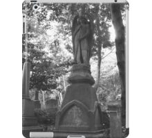 Highgate Cemetery Angel Gabriel iPad Case/Skin