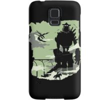 Silhouette of the Colossus Samsung Galaxy Case/Skin