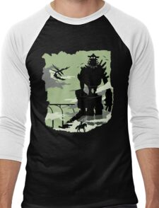 Silhouette of the Colossus Men's Baseball ¾ T-Shirt